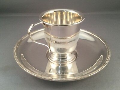 SOLID SILVER CHRISTENING CUP, Birm 1959, Broadway & C0 49.4 grams