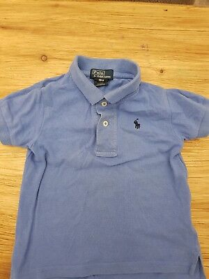 Genuine kids/boys Ralph Lauren polo size1-2 (18 months) blue