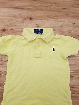 Genuine  Ralph Lauren size 1 (12-18 months) yellow