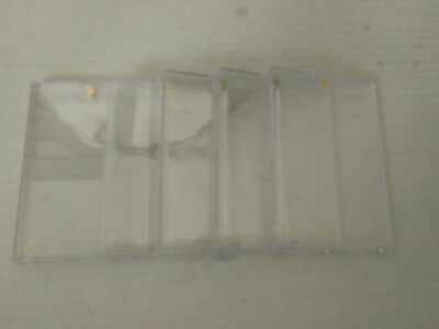 Used 5 x Ultra Pro One Touch Clear Card Holders!