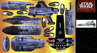 Star Wars Pocketmodel Bs033 Invisibile Hand (Providence Class Carrier/destroyer)