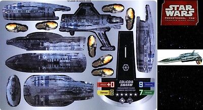 Star Wars Pocketmodel Bs031 Colicoid Swarm (Providence Class Carrier/destroyer)