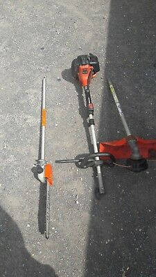 TANAKA strimmer and  POLE SAW  ATTACHMENT
