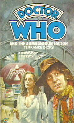 Doctor Who And The Armageddon Factor Paperback Target Terrance Dicks NEW UNREAD