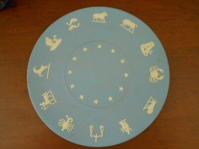 Wedgewood Jasperware 9.5 inch Zodiac Collectors Plate - Free Shipping!