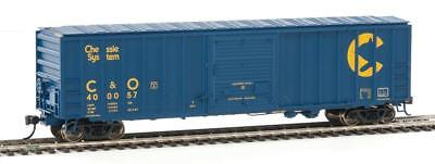 HO-Walthers Mainline-910-2153-Chessie System-50' ACF Exterior Post Bx Cr #400057