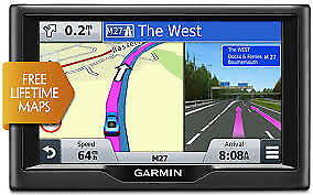 Garmin Nuvi 58LM Sat Nav with UK and Europe Lifetime Map Updates