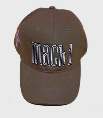 Mach 1 Custom Hat In Charcoal Brand New Sold Exclusively Here Licensed By Ford