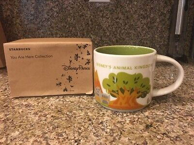 Starbucks Disney Animal Kingdom You are Here Mug Retired With Box 1st edition