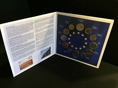 Euro-zone Countries Collections Of The Last National Coins