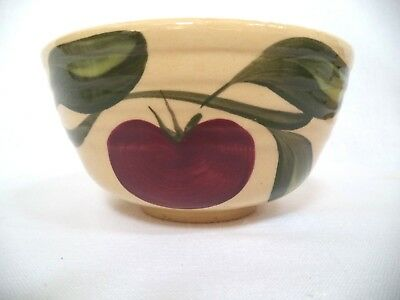 Vintage Watt Pottery 1 Apple Bowl #5