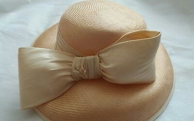peter bettley sisal straw formal hat wedding races or casual.