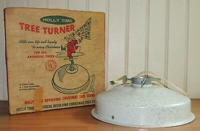 Vintage HOLLY TIME TREE TURNER STAND
