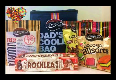DARRELL LEA DADS FATHERS DAY COOLER BAG plus DARRELL LEA CHOCOLATES GIFT PACK