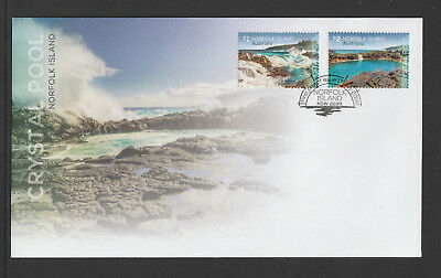 Norfolk Island 2018 : Crystal Pool - First Day Cover, Mint Condition