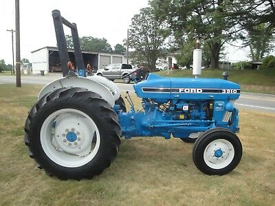Very Nice  Ford 3910   2Wd  Diesel  Tractor  Only 1786 Hours