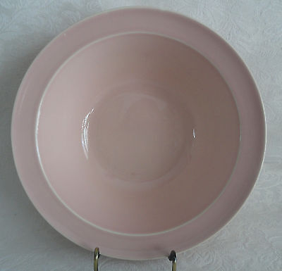 "LuRay  TS&T Large Vegetable Serving Bowl 8 7/8""  (9"")  Sharon Pink"