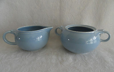 LuRay TS&T - Creamer  & Sugar  -  WINDSOR BLUE -  PERFECT