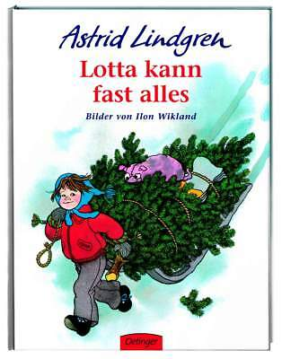 Children's Book Lotta Can Almost Everything by Astrid Lindgren for Children 4+