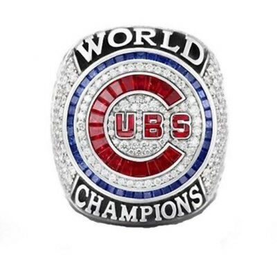 Chicago Cubs Ring 2016 RIZZO Championship World Series Champions Size 8-13