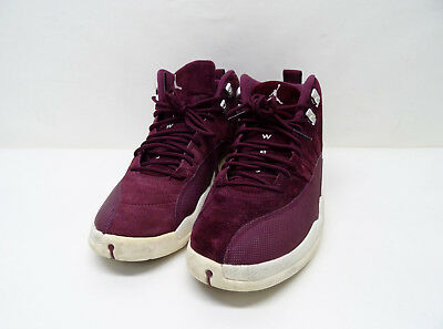 2017 Air Jordan 12 XII Retro Bordeaux Burgundy 130690-617 Sz9.5 P7/N2406