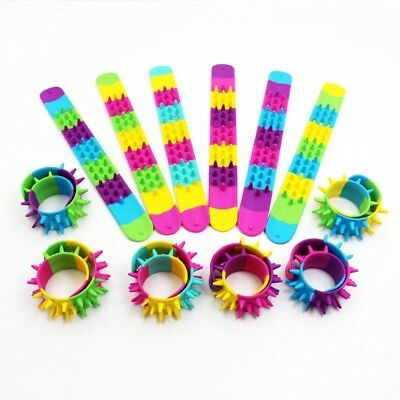 2018 New Colorful Silicone Kids Clap Circle Rubber Wristband Child Gift Toy