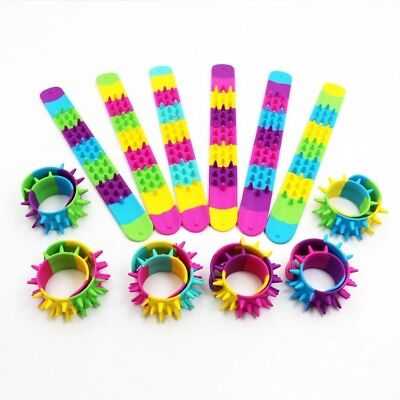2018 New Silicone Bracelet PVC Kids Clap Circle Rubber Wristband Adult Gift Toy