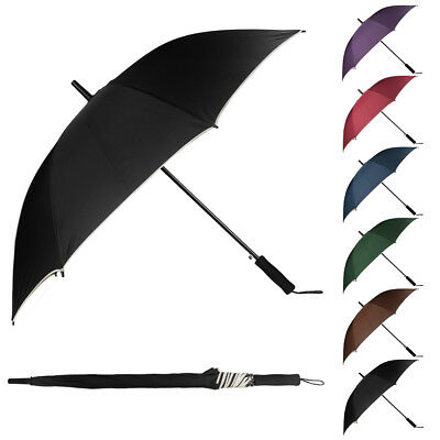 "48"" Super Windproof Anti-UV Protection Auto Open Sun Rain Long Handle Umbrella"