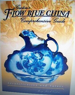 Blue Flow China Price Guide Collector's Book Trademarks Last Issue Printed