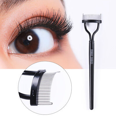 BONNIE CHOICE Eyelash Brush Comb Mascara Guide Curlers Grooming Makeup Tool