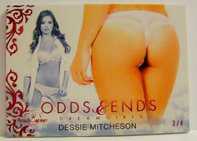 Dessie Mitcheson Odds & And Ends Dreamgirls Maxim 3/4 Bench Warmer 2017 Rare