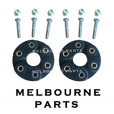 2 Front & Rear Rubber Tail Shaft Couplings Holden Commodore VX VY VZ VE V8