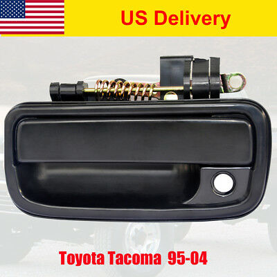 94-05 Toyota Tacoma Exterior Outside Door Handle Front Left Driver Side Black AT