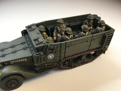 1/72   Plastic Soldier Company  Allied Halftrack And Crew.  Lot 135