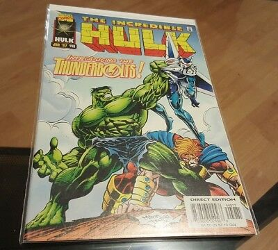 The Incredible Hulk #449 1st Appearance of the Thunderbolts NM 9.6+ HTF