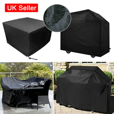 Garden Patio Outdoor Rattan Furniture BBQ Rain Cover Protector Waterproof B