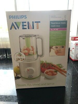 Philips Avent All In One Baby Food Steamer And Blender
