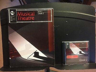 AMEB Music Theatre Series 1, Grade 2 ladies edition course book and CD