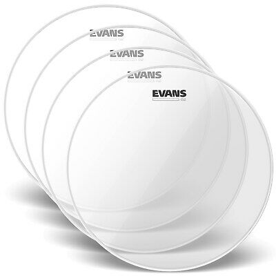 "Evans Level 360 16"" G2 clear tom batter skin"
