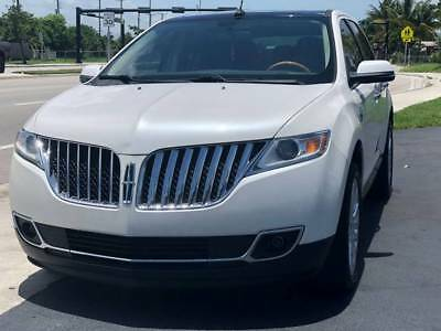 2012 Lincoln MKX Base 4dr SUV 2012 Lincoln MKX Base 4dr SUV 57232 Miles White SUV 3.7L V6 Automatic 6-Speed