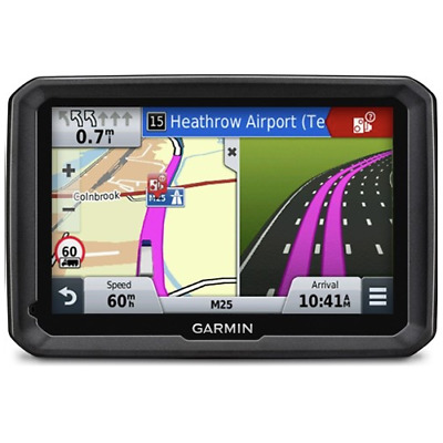 Garmin Dezl 580 LMT-D Truck Sat Nav Free UK & Europe Lifetime Maps Traffic