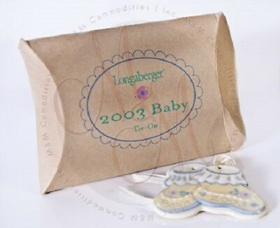 2003 Longaberger Baby Tie-On-COLLECTABLE