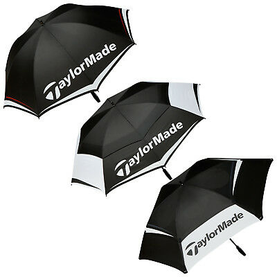 TaylorMade Golf Umbrella - New Rain Brolly Lightweight Select Canopy Size
