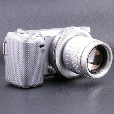 50mm F1.4 CCTV Movie Lens+Adapter(C-NEC)+2rings for Sony A6300 A6000 A5000
