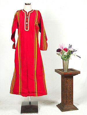 turkmenistan Traditional women silk dress turkmenische frau seiden kleid 18/33