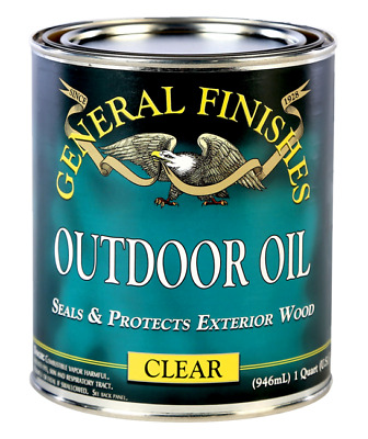 General Finishes Outdoor Oil, 1 Quart