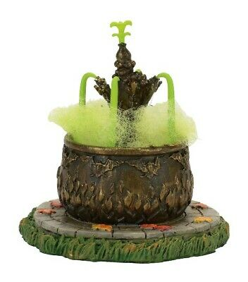 Dept 56 SV Halloween Toad Fountain #4057616 BRAND NEW Free Shipping