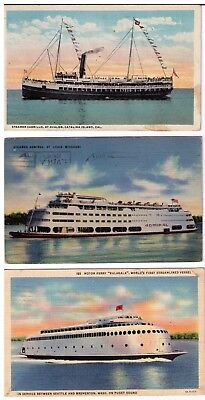 U.s.a.: Saint Louis 1944, Avalon...postcards Ak