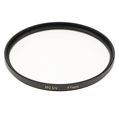 77mm Multi-Coated Glass UV Lens Filter Protection for SLR & DSLR Cameras New