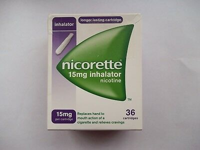 NICORETTE 15mg Inhalator - 36 Cartridges